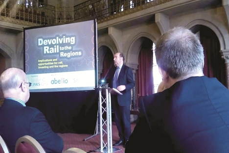 Rail services run from town halls, not Whitehall