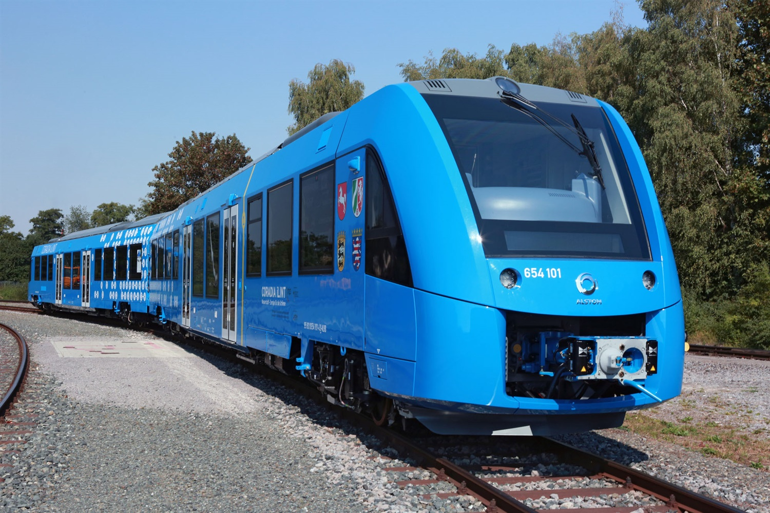 Alstom unveils 'breakthrough' hydrogen-powered train at InnoTrans