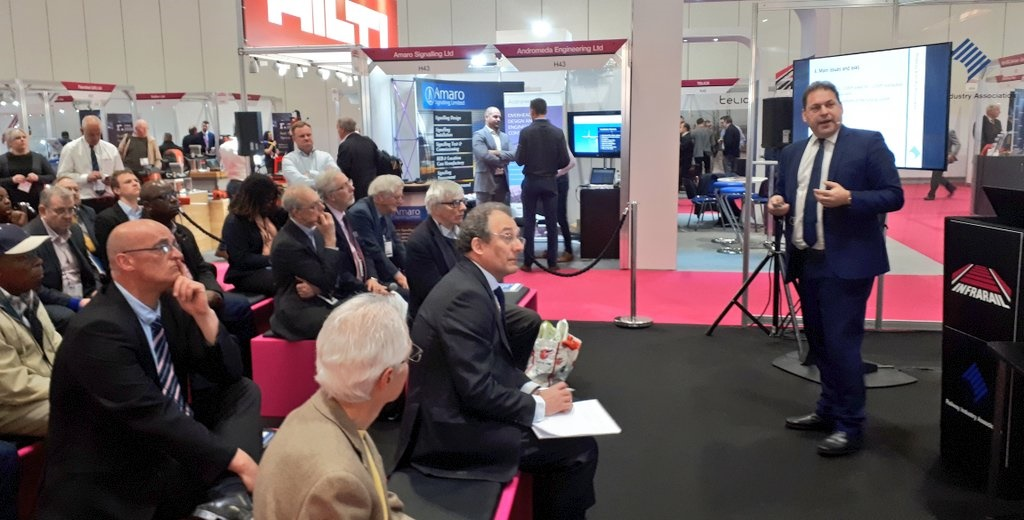 Infrarail draws to a close after bustling three days of innovation-sharing