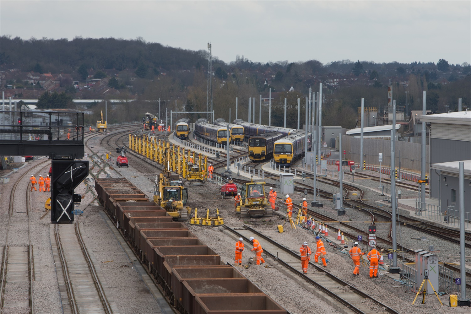 Network Rail completes Easter upgrade work on time
