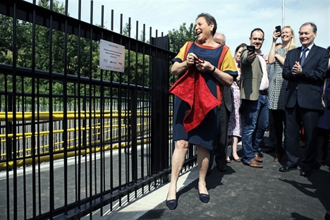 Baroness Kramer opens new James Cook station