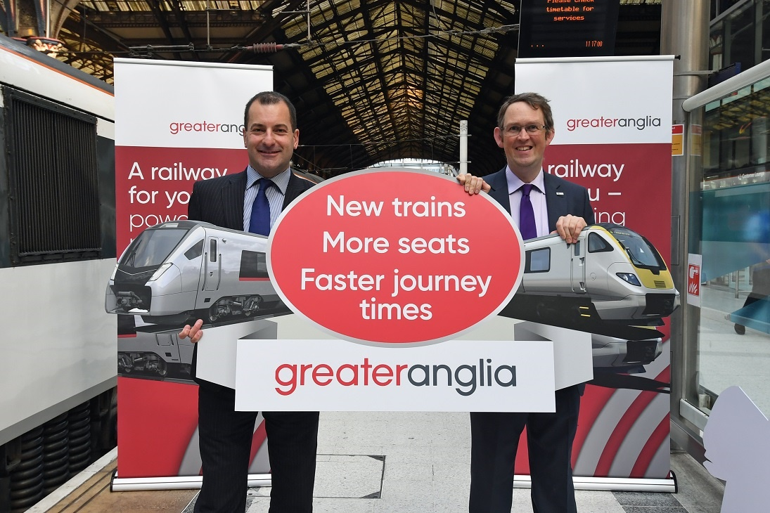Greater Anglia launches new-look Class 321s