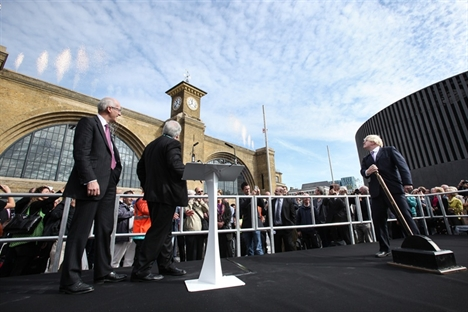 King's Cross square officially opened