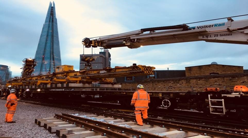 NR moves into final stage of London Bridge works with track and signalling upgrade