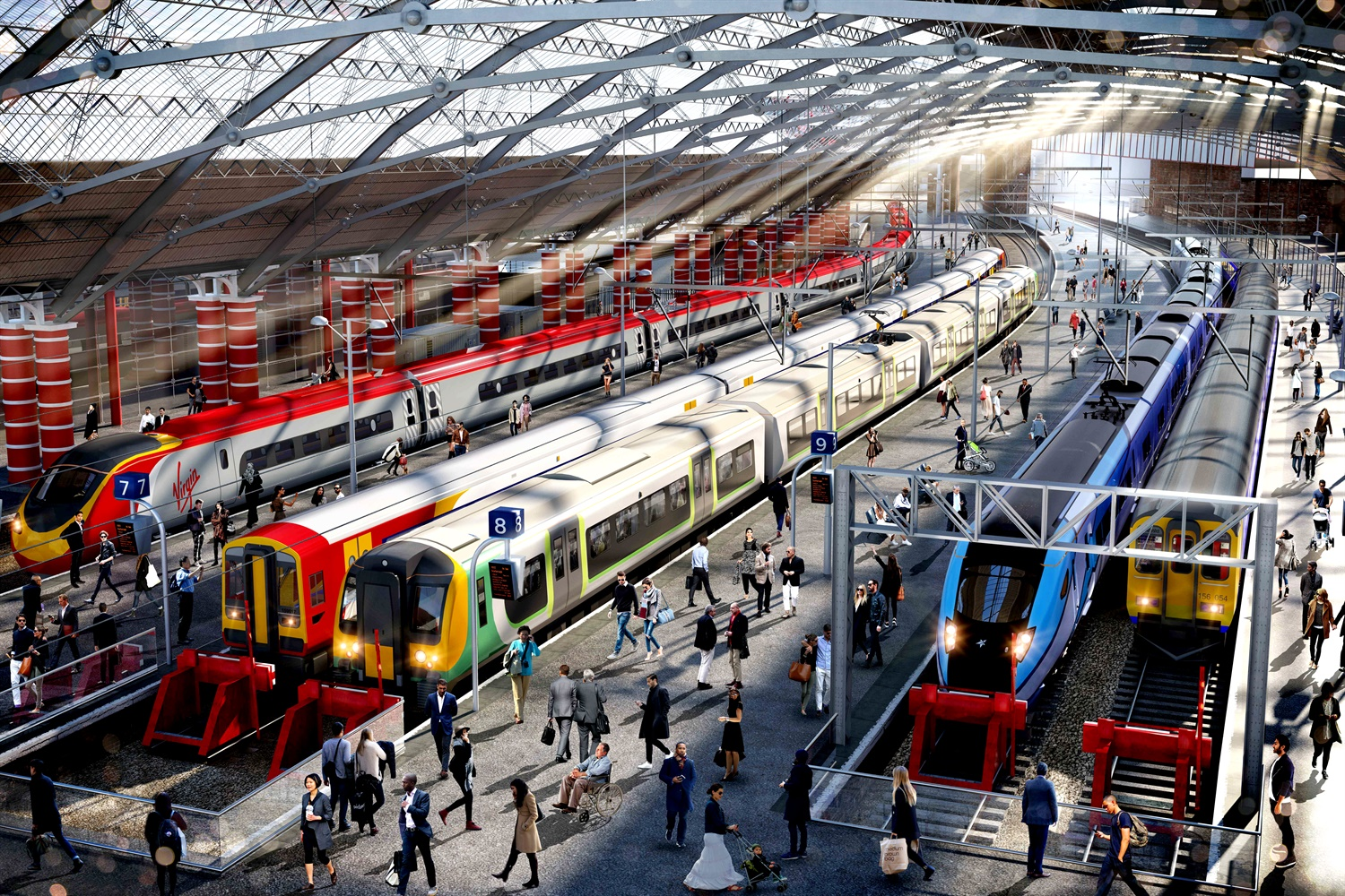 The first phase of Liverpool Lime Street's major upgrade