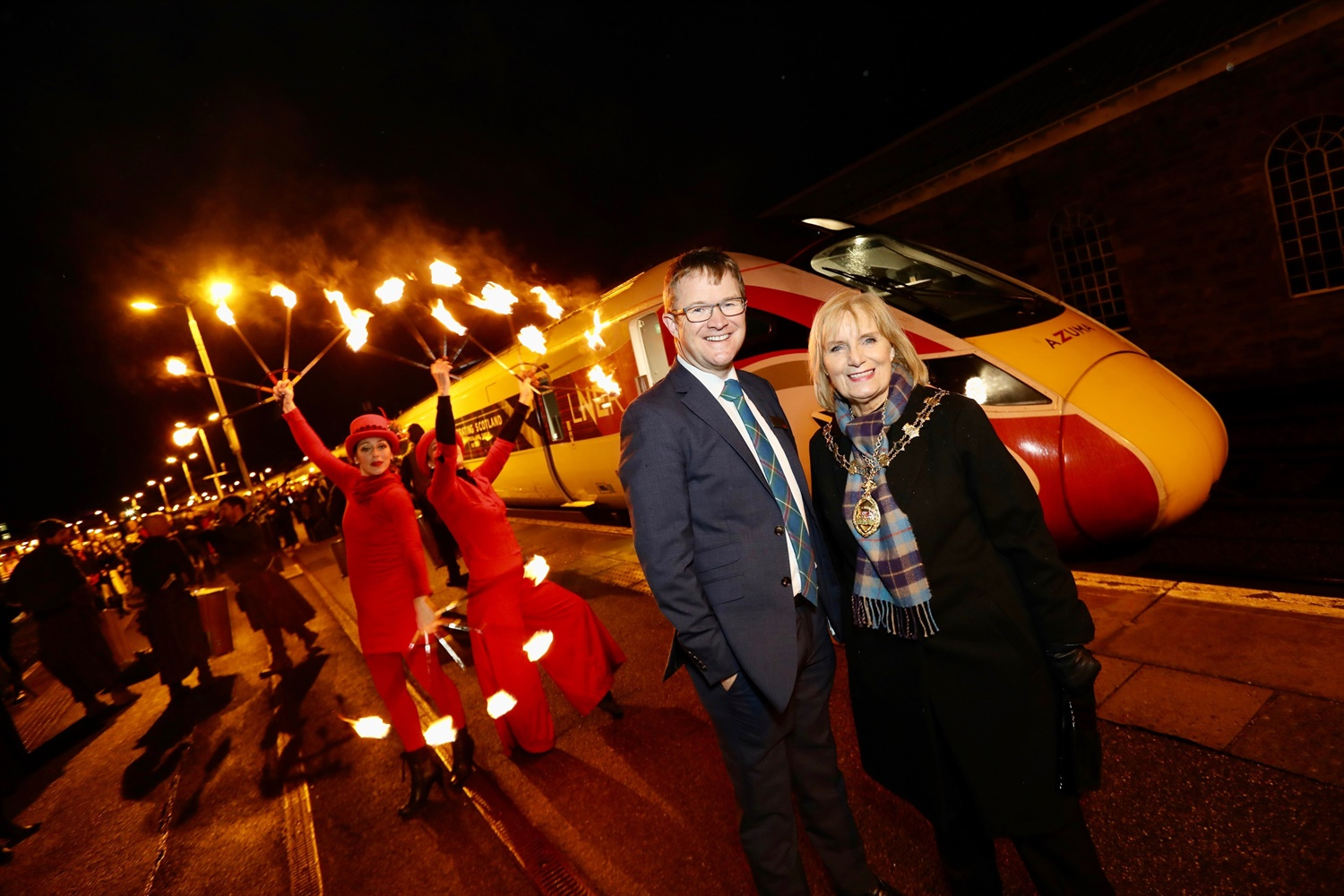 Azuma trains arrive on Highland Chieftain route