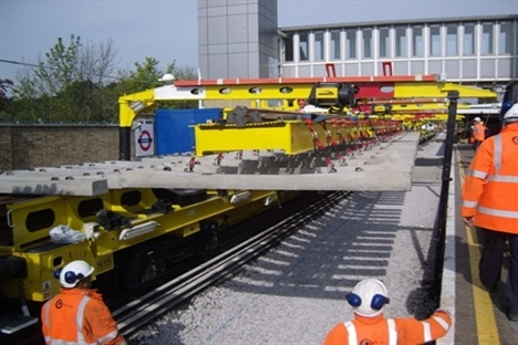 Metronet deploys Tube Lines' new high-output track renewals train