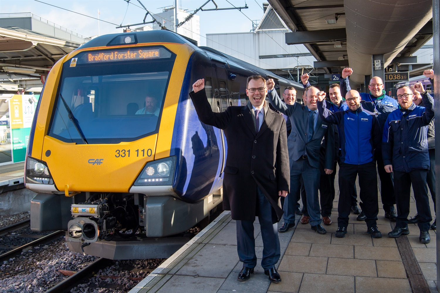 Northern reaches milestone in new train introduction