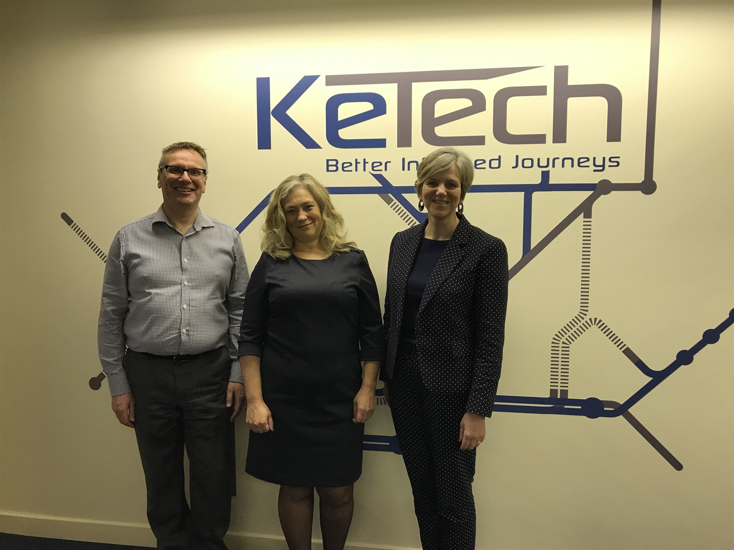 Transport Select Committee chair Lilian Greenwood visits KeTech