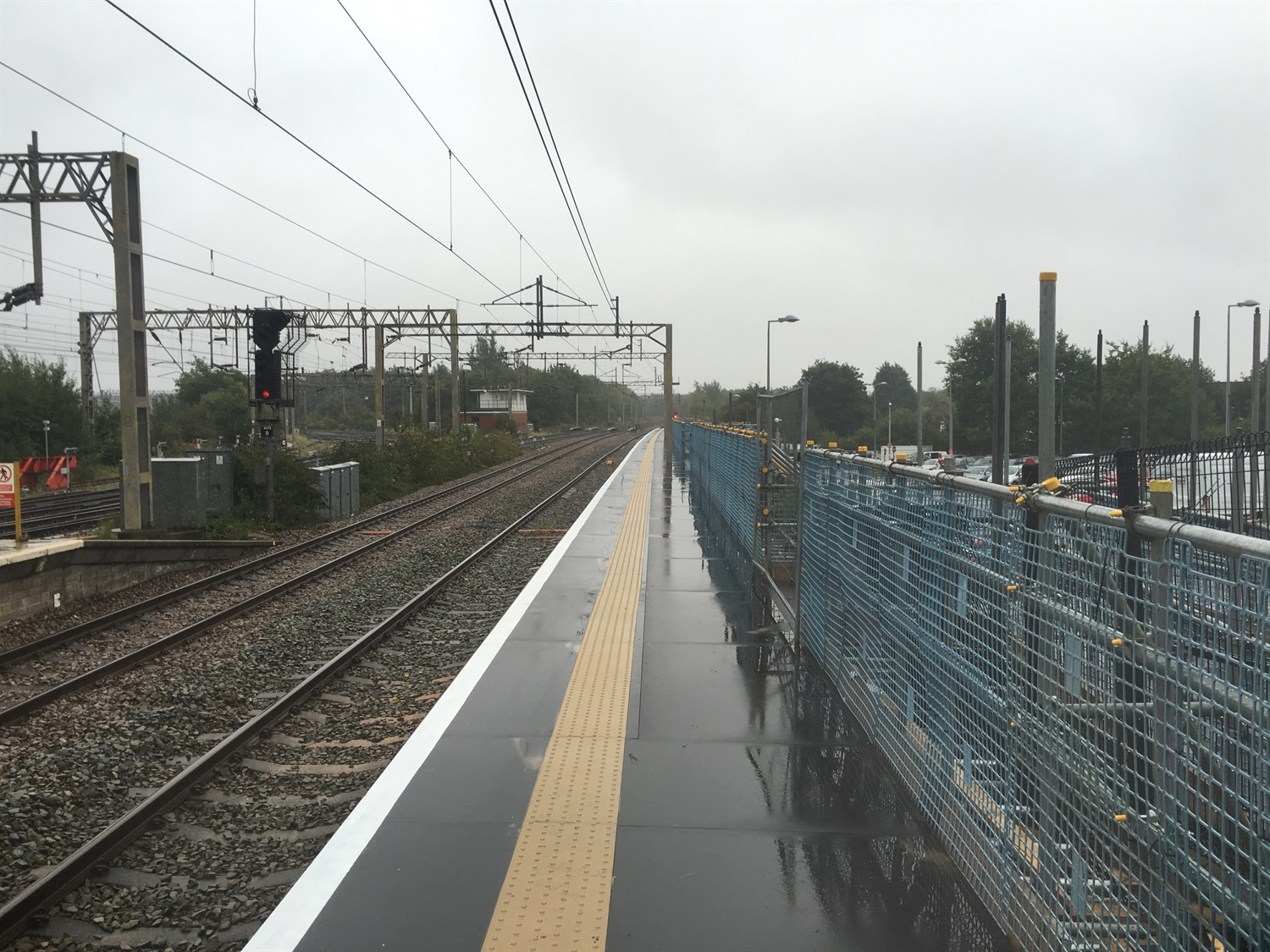 NR extends platform at Liverpool South Parkway ahead of Lime Street upgrade