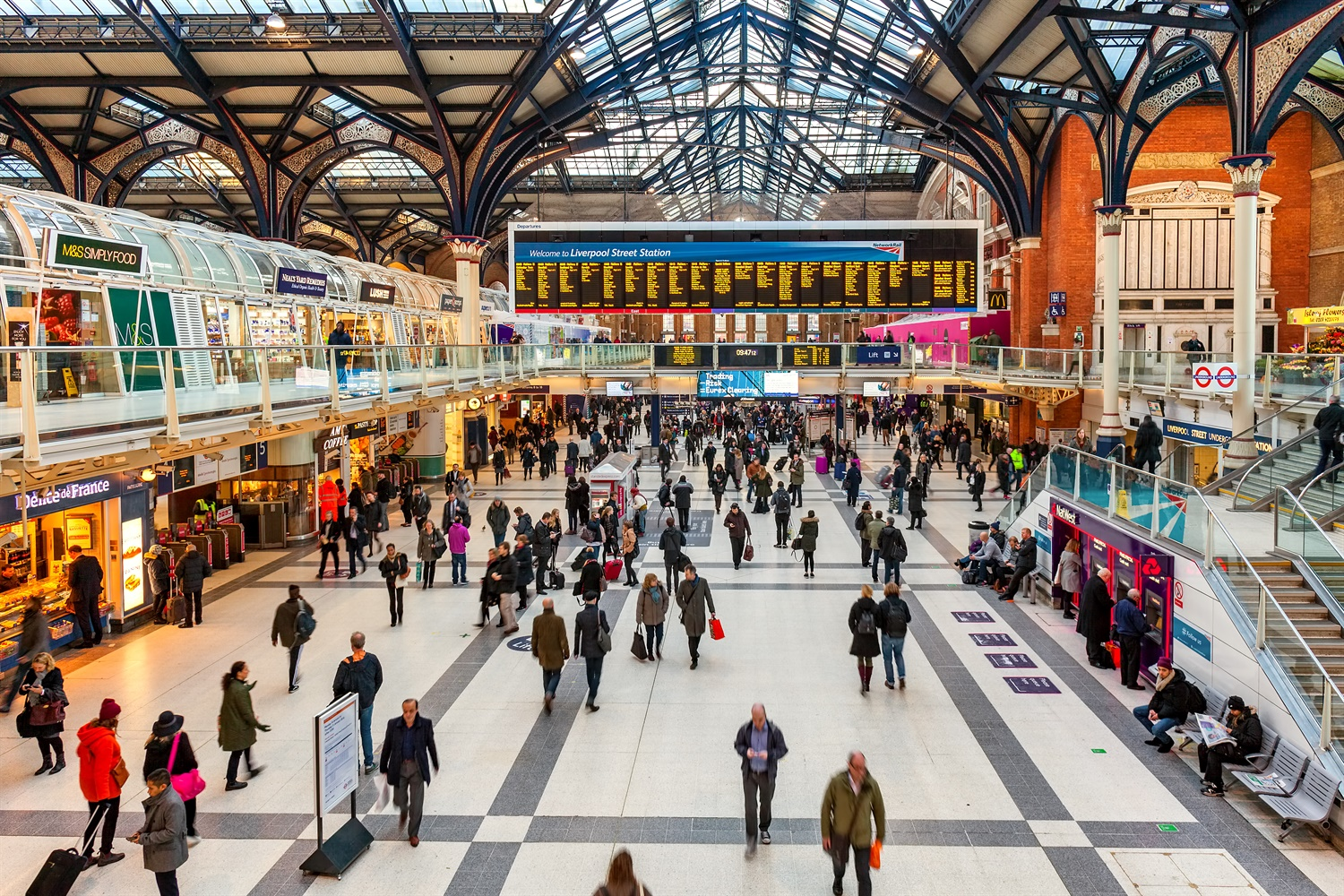 Developing London's stations key to catering for population growth