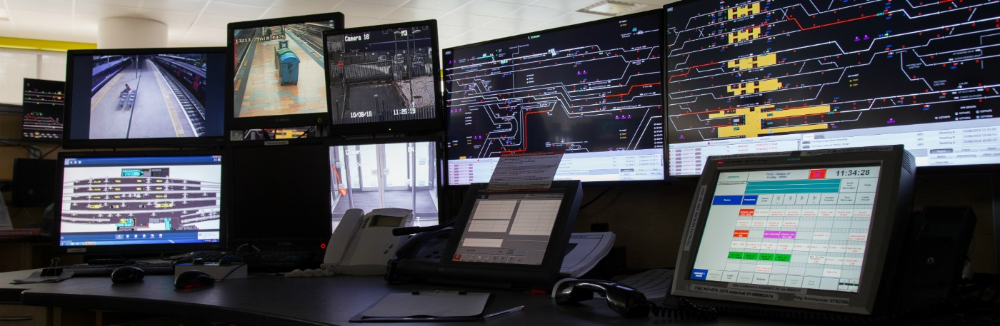 Luminate technology operating in the Thames Valley signalling Centre in Didcot