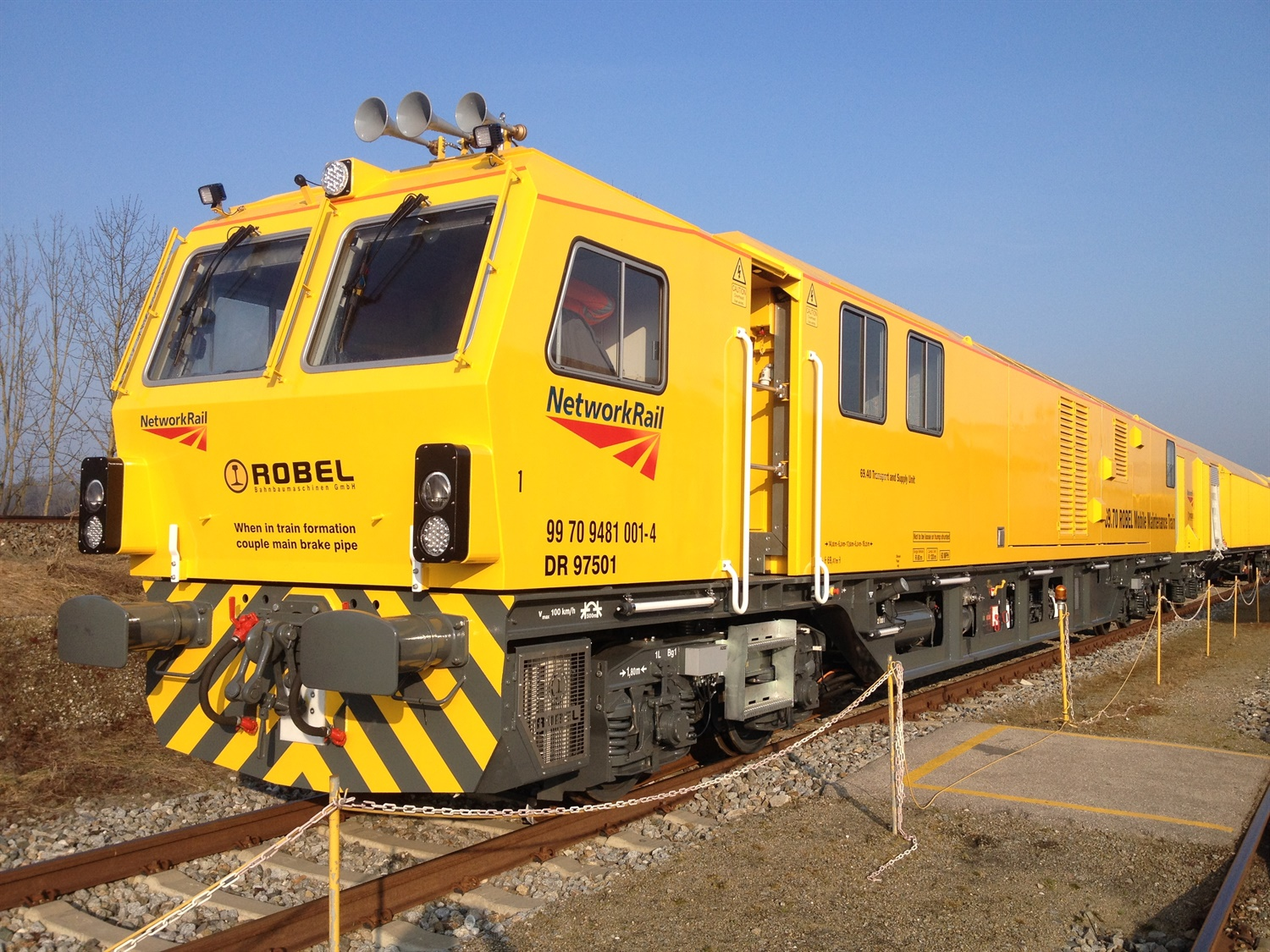 Network Rail's new mobile maintenance trains set to enter service