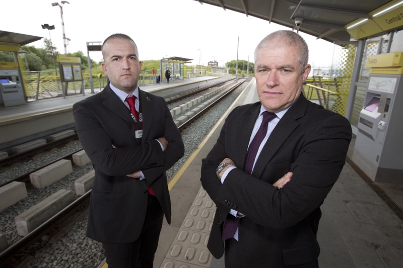 TfGM trial to prevent Metrolink metal theft