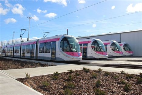 Midland Metro to unveil first Urbos 3 tram to the public