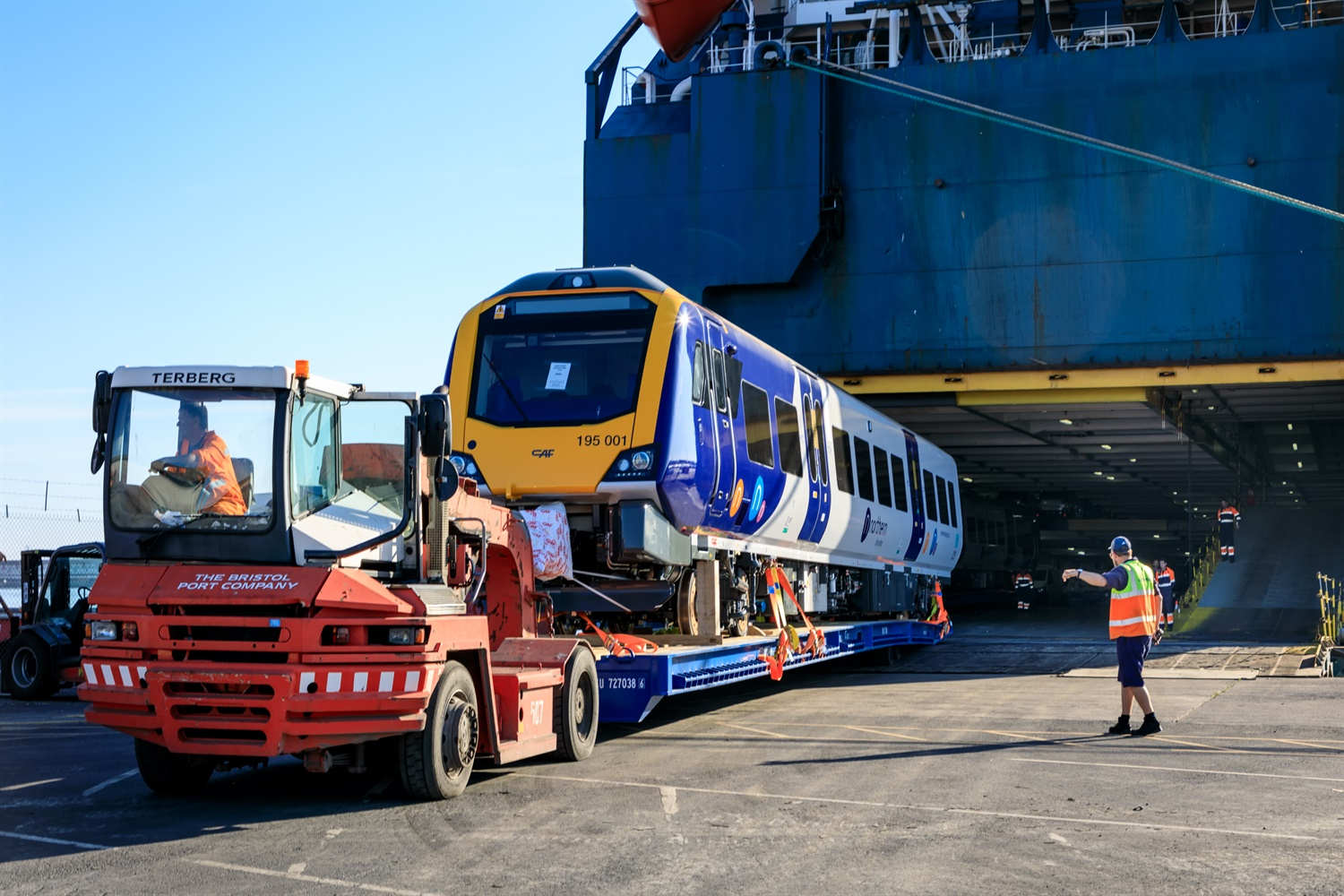 First of Northern's 98 new trains arrive in UK for testing