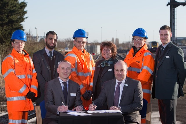 Network Rail sign alliance agreement with GWR