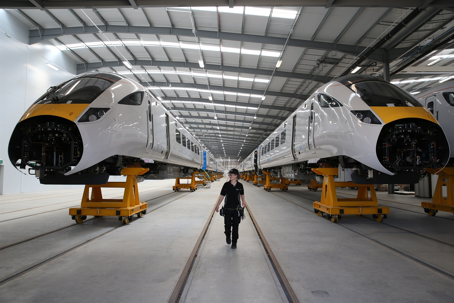 Hitachi Rail: Five years at flagship factory in the North East