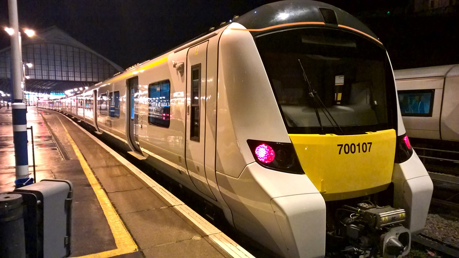 First Class 700 makes successful mainline test run to Brighton