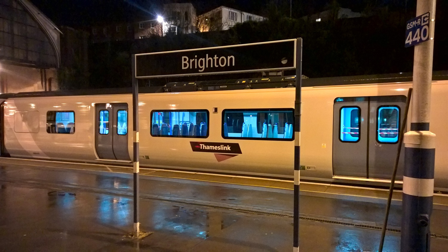 New train at Brighton 2