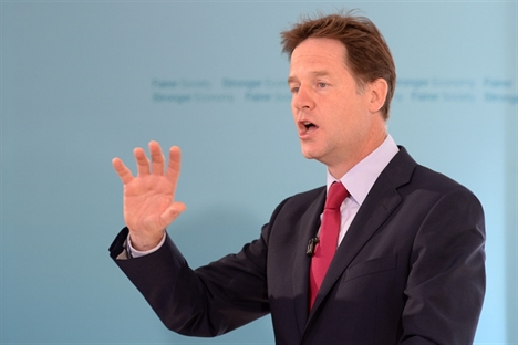 More powers for the north over transport are on their way, says Clegg