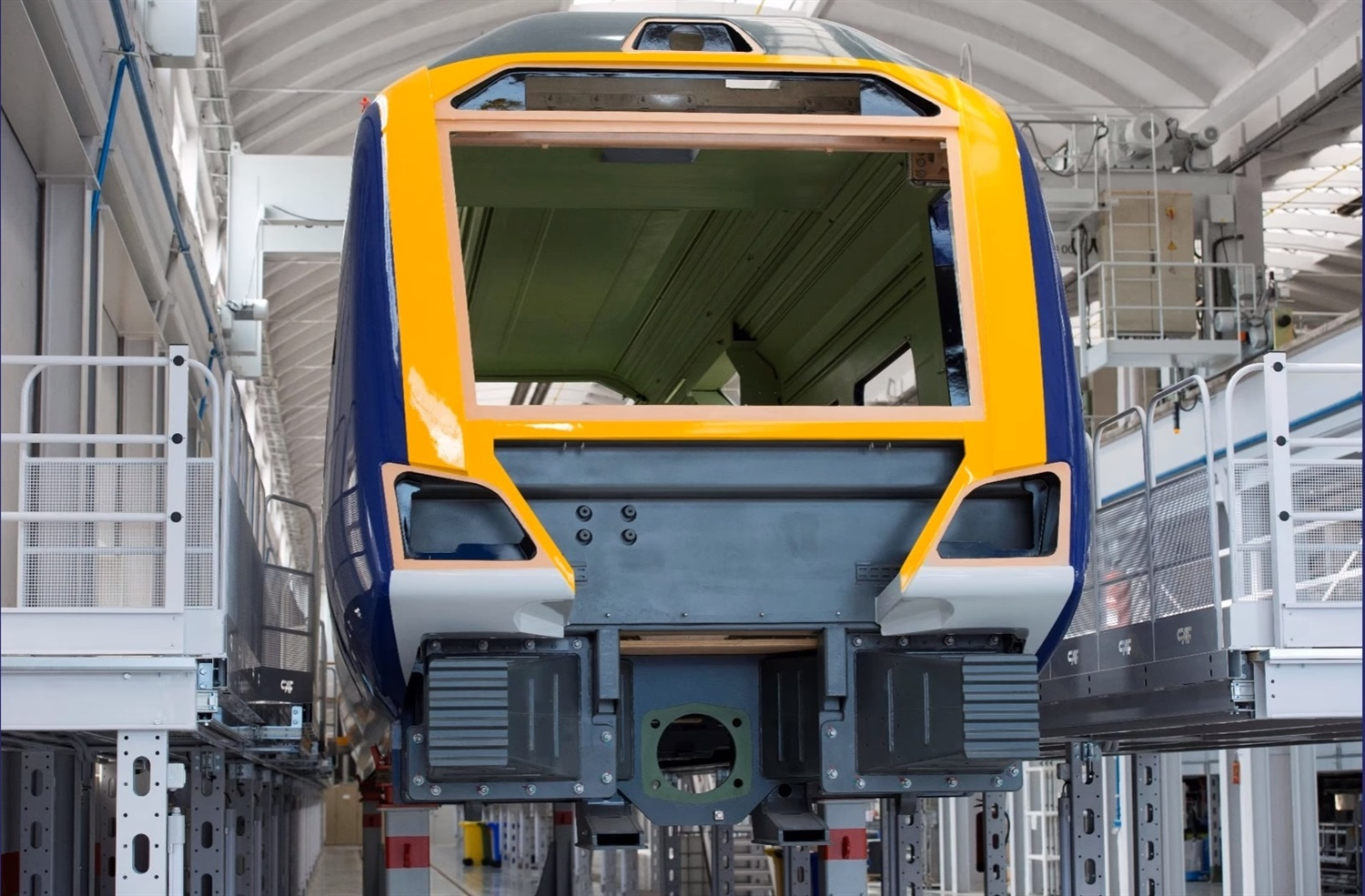 Bodyshells of new Northern rolling stock 'coming together'