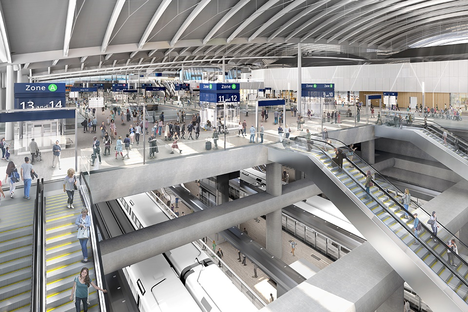 HS2 unveils construction teams for major Euston and Old Oak Common station builds
