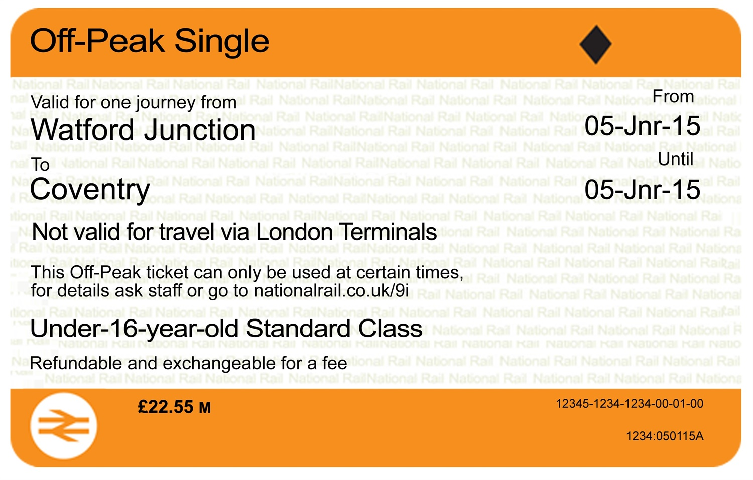 Train tickets get a makeover
