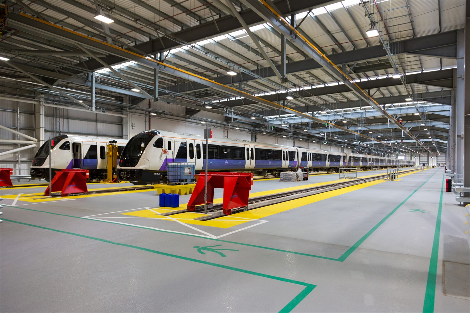 Old Oak Common depot begins operations ahead of Elizabeth Line launch