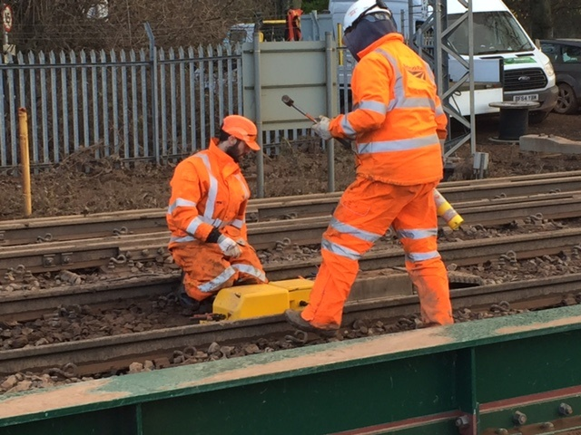 NR stabilises Chiltern main line with innovative Japanese piling method