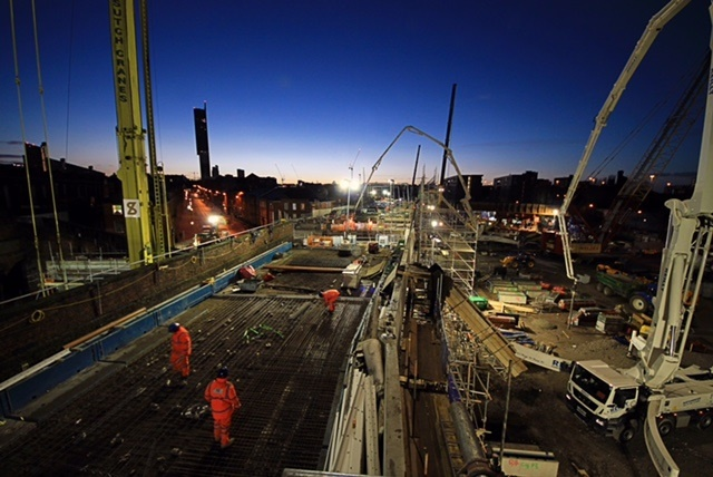 Watch how the Ordsall Chord work progressed over Christmas