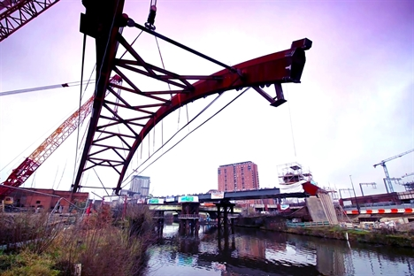Ordsall Chord: History being made