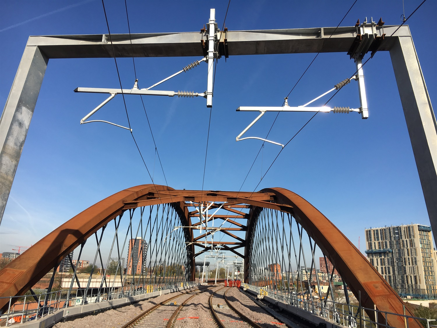 'Iconic' Ordsall Chord completed by Network Rail