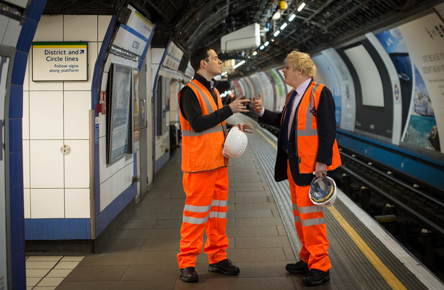 Osborne and Boris plans for more 24-hour Tube services dubbed 'pre-election stunt'