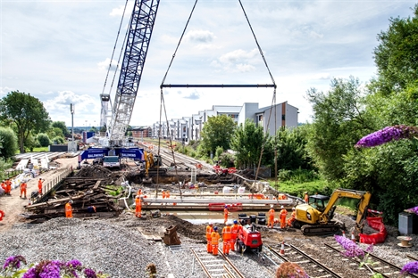 Oxford station on track for Marylebone