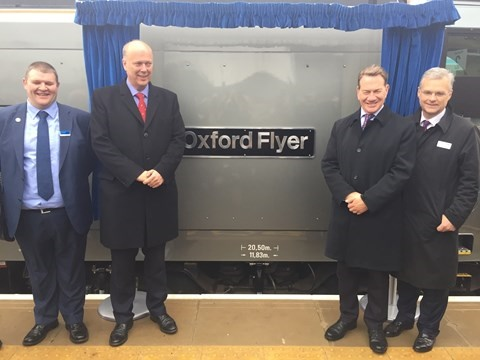 Chiltern's Oxford city centre to London services up and running