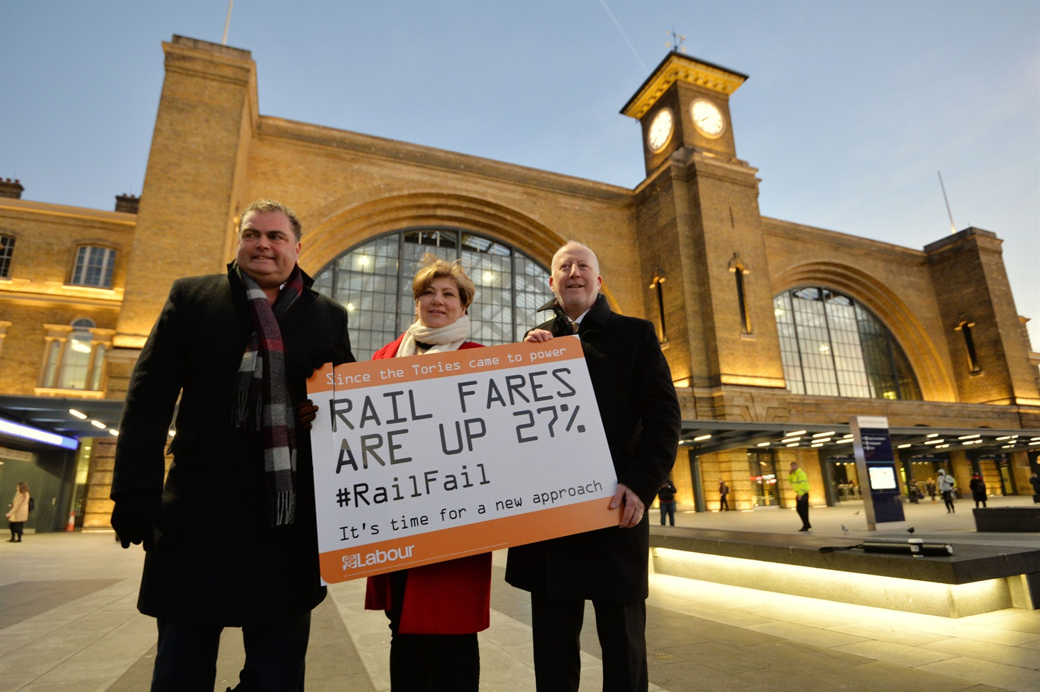 Commuters protest for being 'fleeced' by steep rail fare hikes