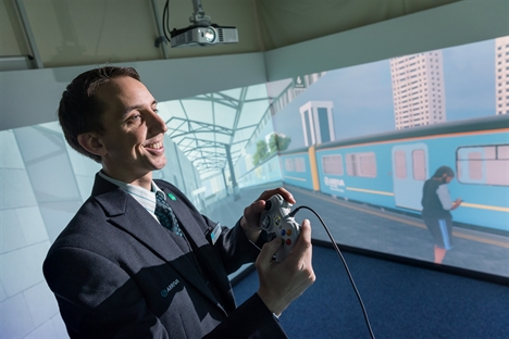 Using virtual reality to improve safety