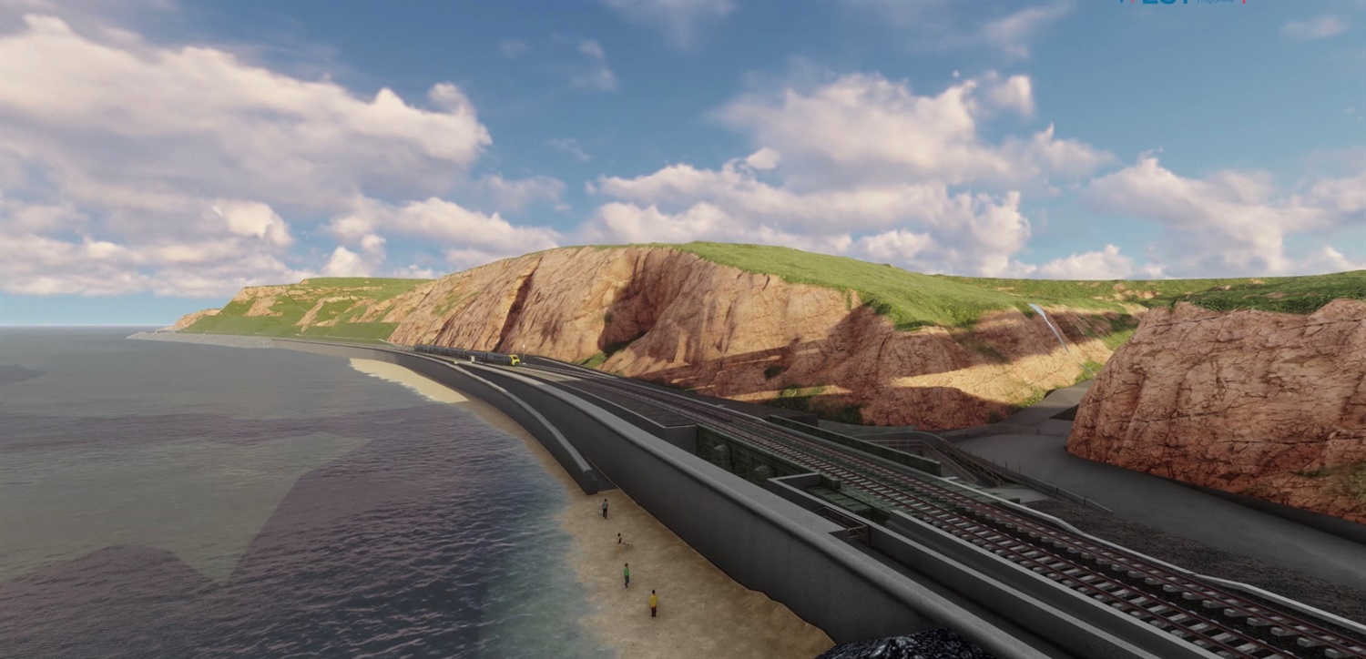 Dawlish railway may be 'moved out to sea' to protect it from storms under new proposals