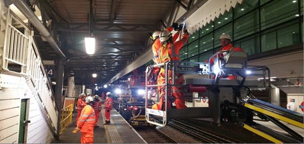 Upgrades on track at Paddington