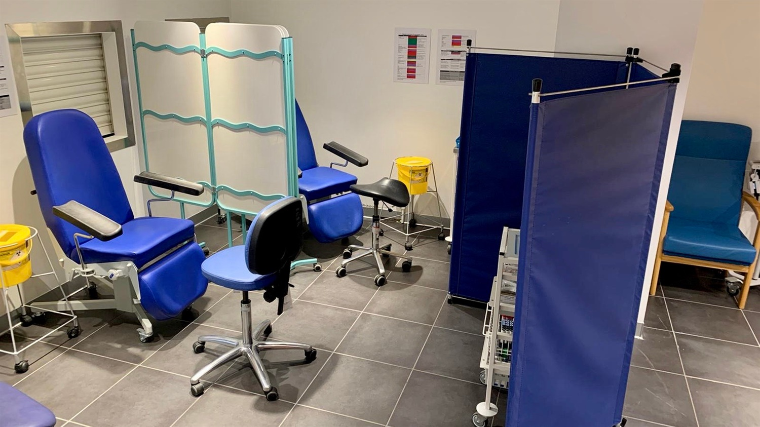 Birmingham New Street has opened an NHS outpatient clinic