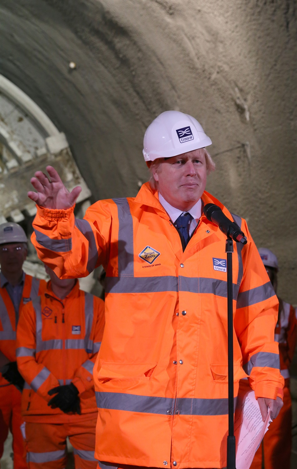 Prime Minister and Mayor of London celebrate completion of Crossrail s tunnelling marathon 200346