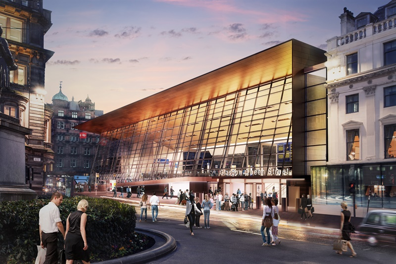 New Glasgow Queen Street designs unveiled as second consultation begins