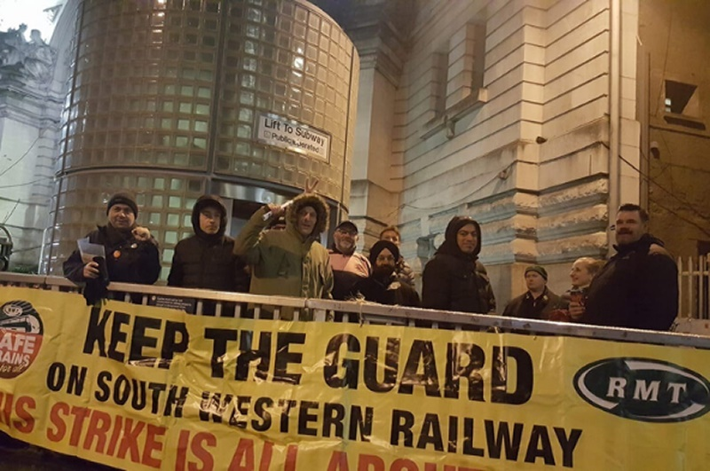 RMT puts forward settlement to end SWR strike