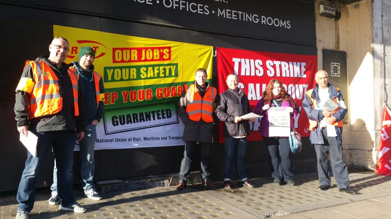 RMT returns to picket line on Northern