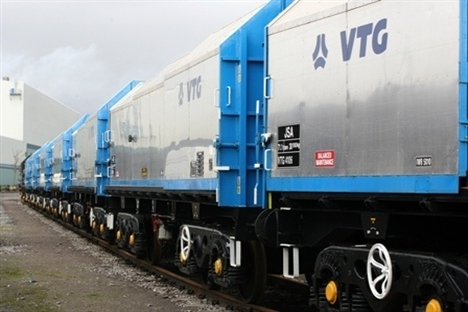 40 new wagons make steel coil transportation more effective