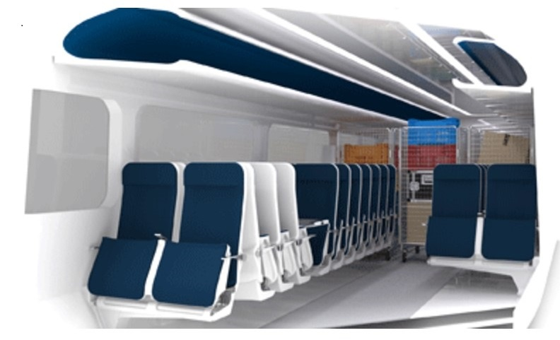 RSSB unveils innovative carriage design for passenger and freight use