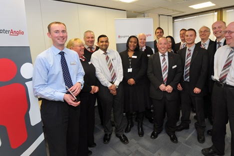 Customer service training launch for Greater Anglia