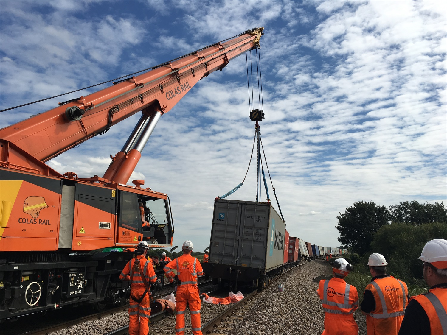 NR recovery operation after Ely derailment set to cause more disruption