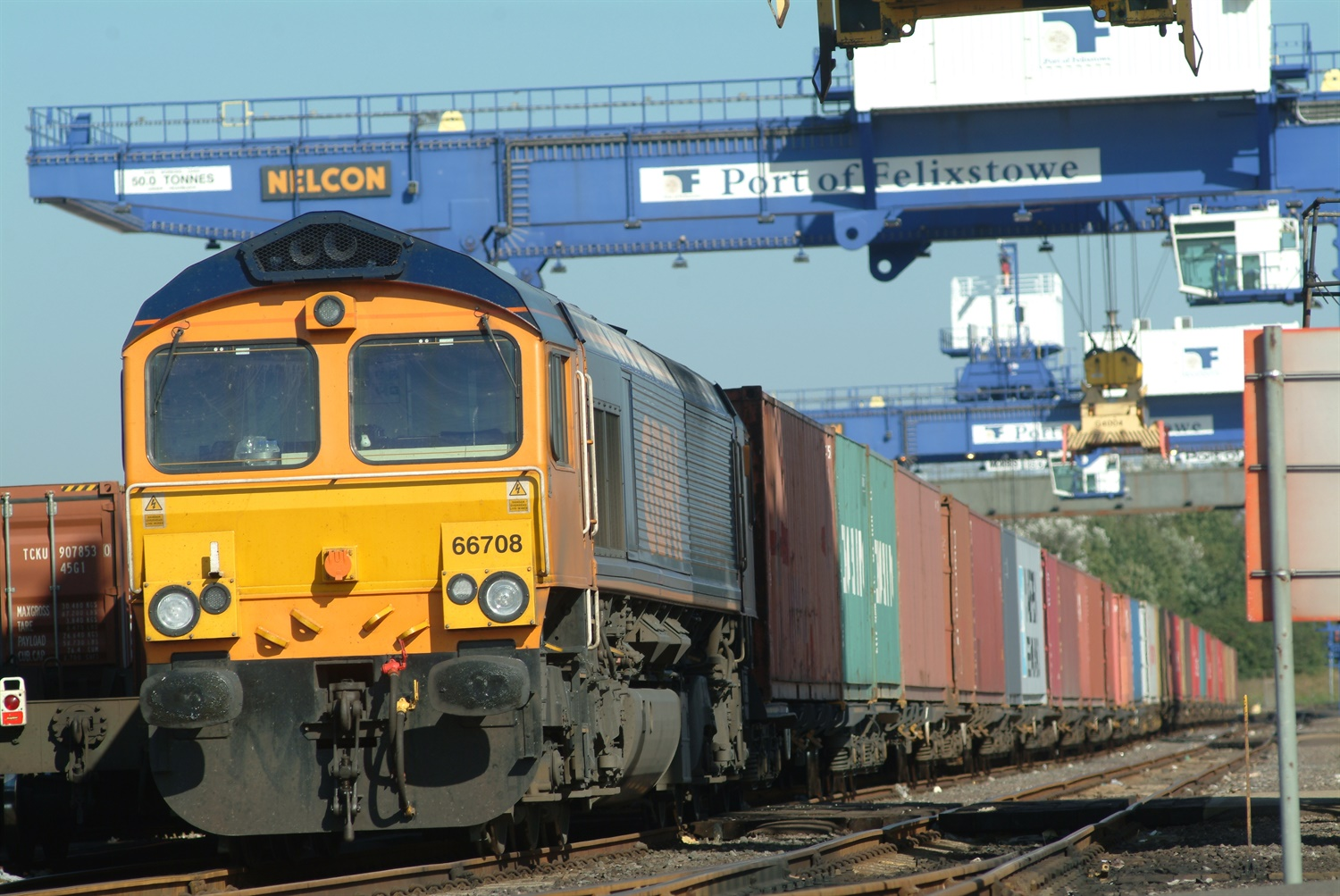 DfT approves £60m upgrade to Felixstowe branch line